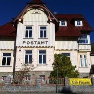 Postamt, Postmeisterwohnung - Schierke