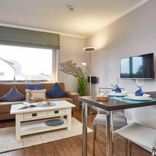 """Modernes 1-Zi-Appartement """"Strandgut"""" am Dorfteich - Wenningstedt"""