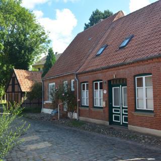 Burgs schönste Straße Badstaven Wohnung Muschel - Burg Fehmarn