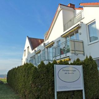 2 Zi Ferienwohnung Müritzblick, direkt am Seeufer, perfekte Lage, barrierefrei - Waren (Müritz)