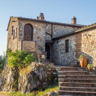 poggio alla rocca - sole - Civitella Paganico, Italia