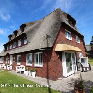 Haus Frisia Kampen - FeWo 2 - Hund - Kampen