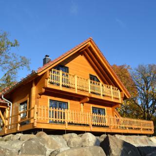 LUXUS Ferienhaus Waldblick mit großer Sauna, Kamin und Außen-Whirlpool - Schierke