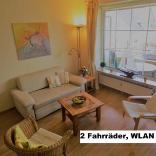 NEUES KOMFORT-Appartement NORDLICHT, strandnah, SW-Balkon, privates W-LAN, Fahrräder, Garage. - Timmendorfer Strand
