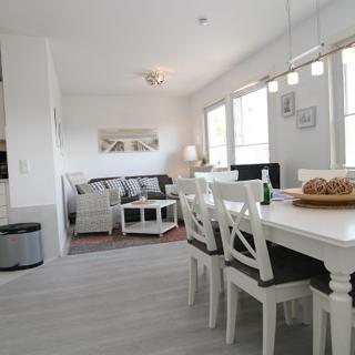 Haus Hummer weiße Wohnung - Hörnum