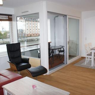"""Neu! Exkl. Ferienwohnung """"Speicherstadt"""" mit Wasserblick & Balkon - 171 - Wismar"""
