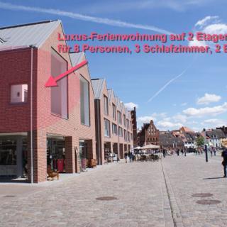 """Luxusloft """"Hafenpanorama"""" über 2 Etagen am Wismarer Hafen - 173 - Wismar"""