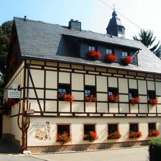 Dreibettzimmer in Wiesa - Thermalbad Wiesenbad
