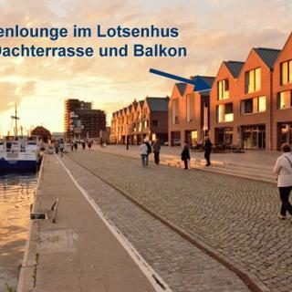 Lotsenlounge im Lotsenhus - 238 - Wismar