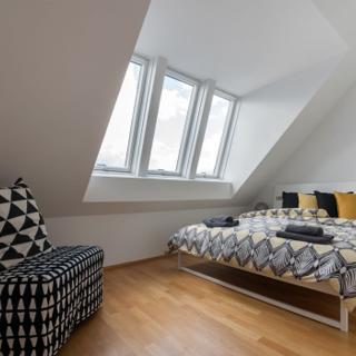 Stylisches Penthouse mit Terasse in Ruhelage nahe dem Zentrum - Wien