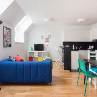 Liebevolles Penthouse Apartment in Ruhelage nahe dem Zentrum - Wien