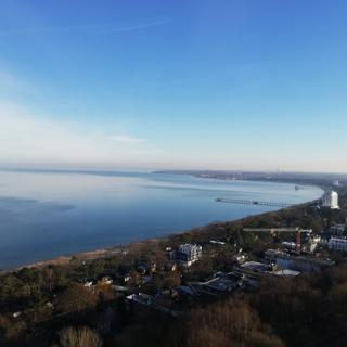 App. Küstenblick mit Seeblick  500m zum Strand - Timmendorfer Strand