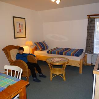 Einzelzimmer Lindenstube - St. Peter-Ording