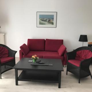 Steiner Strandappartements Appartement 207 Süd-Landseite - Stein