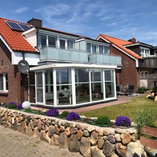 Wohnung Steuerbord (oben linke Seite) - Wittdün