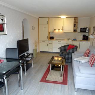Urlaub mit Hund: Apartment BRITTA für 2 Personen - Westerland