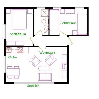 Haus am Böhler Strand - Wohnung 2 - St. Peter-Ording