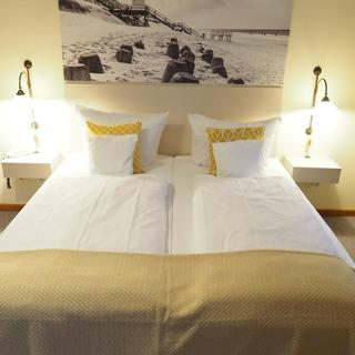 Hotel Wagenknecht - Doppelzimmer 16 - Westerland