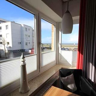 Ferienwohnung 1 im Haus Seeluft Duhnen: Strandnah und mit Meerblick - Cuxhaven