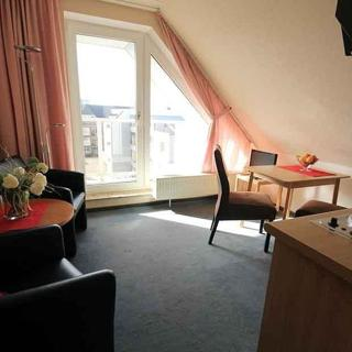 Meerblick-Ferienwohnung 11 mit Balkon im Haus Seeluft in Duhnen - Cuxhaven