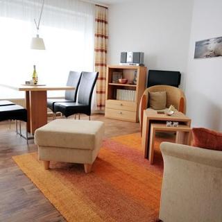 Ferienwohnung 24 in der Residenz Meeresbrandung mit Meerblick - Cuxhaven