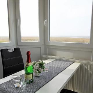 Ferienwohnung 6 im Haus Robbenplate mit Panorama-Meerblick - Cuxhaven