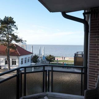 Meerblick Ferienwohnung 30 in der Residenz Meeresbrandung - Cuxhaven