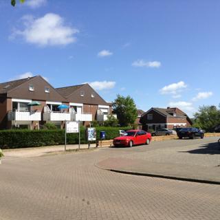 Haus Norderoog - Terrassen-Fewo-Nr.11 im Reiheneckhaus / Zwei-Familien-Haus - Borkum