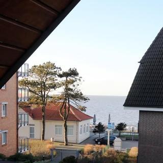 Ferienwohnung 52 mit Teil-Meerblick, Residenz Meeresbrandung Duhnen - Cuxhaven