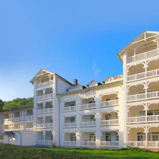 Aparthotel Ostsee FeWo F10: 2-Raum, 4 Pers., Balkon, Meerblick kH - Binz