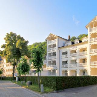Aparthotel Ostsee FeWo F15: 2-Raum, 4 Pers., Balkon, Meerblick - Binz