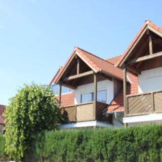 Villa Seeschwalbe FeWo 08: 3-Raum, 4 Pers., Balkon, Meerblick kH - Breege