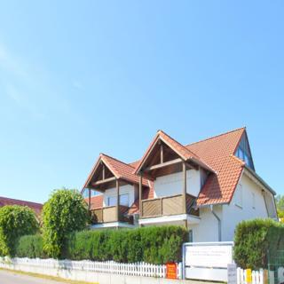 Villa Seeschwalbe FeWo 10: 1-Raum, 2 Pers., Balkon, Meerblick kH - Breege