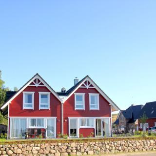 Ferienhaus TimpeTe Haus Steuerbord: 4-Raum, 6 Pers., Terrasse, Meerblick - Gager