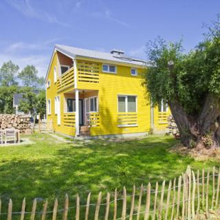 Ferienhaus Saga Haus Sol: 3-Raum, 4 Pers, Sauna, Kamin, WLan - Wiek