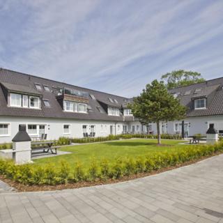 Appartementhaus Inselwind 03 MEERbodden: 2-Raum, 2 Pers., Terr., Waschmaschine - Groß Zicker