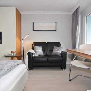 Modernes Strandappartement mit Meeresrauschen und Morgensonne - Westerland