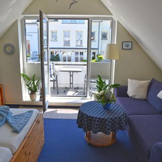 Komfortable 1-Zimmer-Fewo Hein - Warnemünde