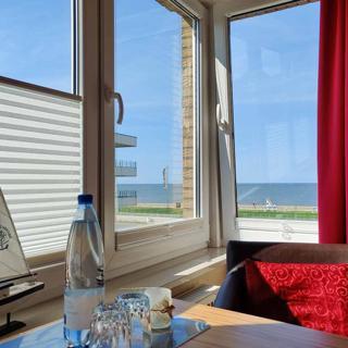 Ferienwohnung 4: Strandnah und mit Meerblick im Haus Seeluft zentral in Duhnen - Cuxhaven