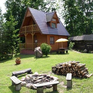 Pod Kogutkiem-Domek I (Ferienhaus) - Kruklanki